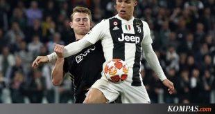 Juventus Vs Ajax, Ronaldo Saja Tak Cukup untuk Bantu Juve Sukses – Kompas.com – KOMPAS.com