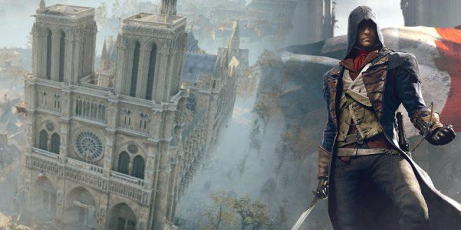 Ternyata Map Assassin S Creed Unity Bisa Membantu Perbaikan Notre