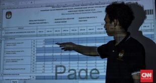 KPU Buka Layanan Pengaduan Data Situng – CNN Indonesia