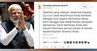 Deretan Ucapan Selamat dari Pemimpin Negara untuk Jokowi – Foto Tempo.co