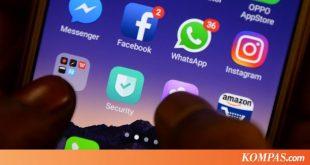 Layanan Facebook, Instagram, dan WhatsApp Down Malam Ini – Kompas.com – Tekno Kompas.com