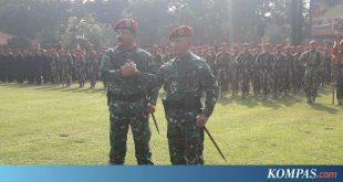 Panglima TNI Resmikan Koopssus, Satuan Gabungan Pasukan Elite TNI – Kompas.com – Nasional Kompas.com