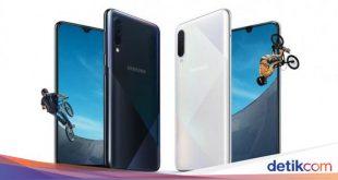 Galaxy A50s & A30s Resmi Dirilis, Ini Spesifikasi Lengkapnya – detikInet
