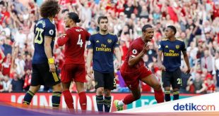 Babak I Liverpool Vs Arsenal: The Reds Unggul 1-0 – detikSport