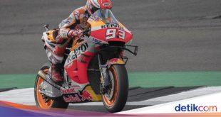 Marquez Pole Position di MotoGP Inggris, Rossi Kedua – detikSport