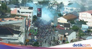 Ini Data Terbaru Kerusakan Akibat Demo Rusuh di Jayapura – detikNews