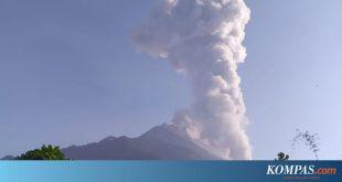 Terjadi Letusan Gunung Merapi dengan Tinggi kolom 1.000 Meter. – Kompas.com – KOMPAS.com