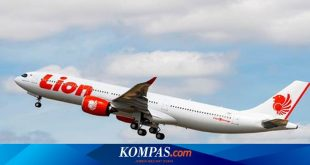 Ini Penjelasan Lion Air soal Pesawat yang Jatuh di Filipina – Kompas.com – KOMPAS.com