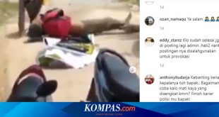 Viral, Video 2 Polisi Baku Hantam hingga Bergulat dengan ODGJ – Kompas.com – KOMPAS.com
