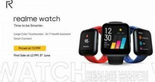 Smartwatch Perdana dari Realme Resmi Meluncur, Harganya Sekitar Rp800 Ribu – kovesia