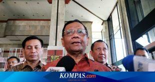 Mahfud MD Tak Persoalkan Diskusi soal Pemberhentian Presiden di UGM – Kompas.com – KOMPAS.com