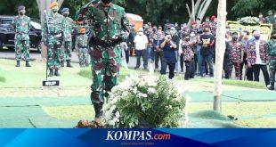 Panglima TNI Pimpin Upacara Pemakaman Djoko Santoso di San Diego Hills – Kompas.com – KOMPAS.com