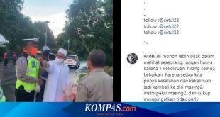 Video Umar Assegaf Cekcok dengan Petugas PSBB Viral, Ini 3 Kesalahannya Menurut Polisi – Kompas.com – KOMPAS.com