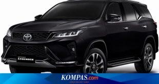 Toyota Fortuner 2020 Resmi Meluncur, Ada Kejutan Varian Baru – Kompas.com – Otomotif Kompas.com