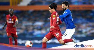 Babak Pertama Tuntas, Everton Vs Liverpool Tanpa Gol – detikSport