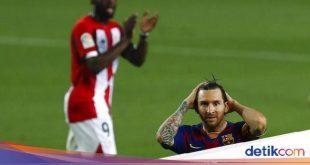 Zidane: Jangan Tinggalkan Barcelona, Messi – detikSport