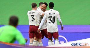 Babak Pertama Community Shield: Arsenal Ungguli Liverpool 1-0 – detikSport