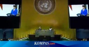 Jokowi Pidato di Sidang Umum PBB, Minta Rivalitas dalam Penanganan Covid-19 Dihilangkan – Kompas.com – Nasional Kompas.com